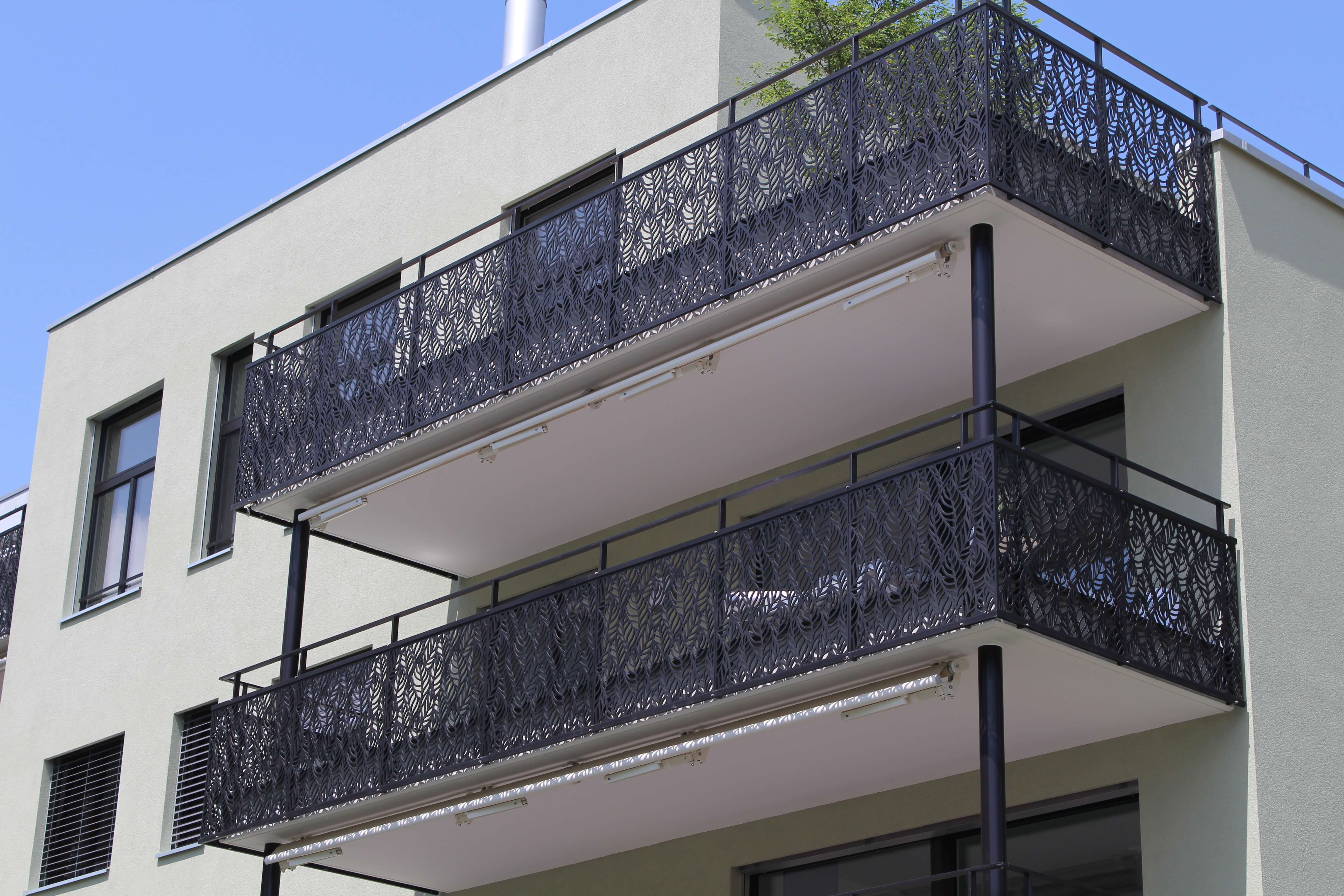 A Balcony Cladding As Unique As Nature